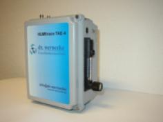 Die Spurenfeuchte-Messeinheit besitzt einen automatischen Sensorcheck