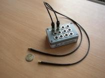 Für Feuchte Monitoring kann der Konverter bis zu 12 Feuchtefühler gleichzeitig koordinieren